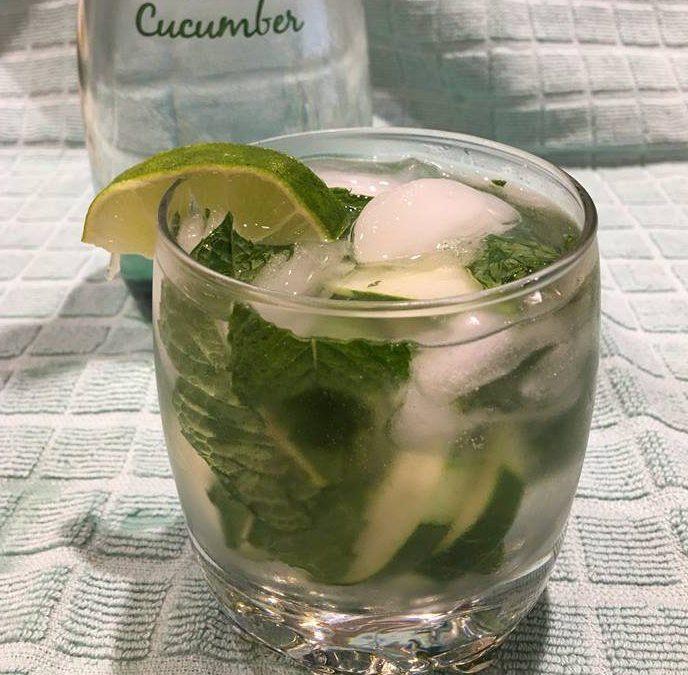Cucumber Mojito!