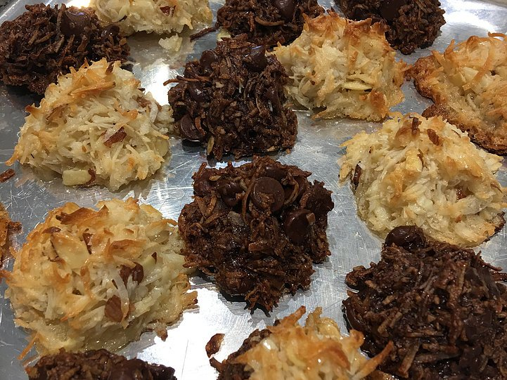 Double Chocolate and Almond Coconut Macaroons!