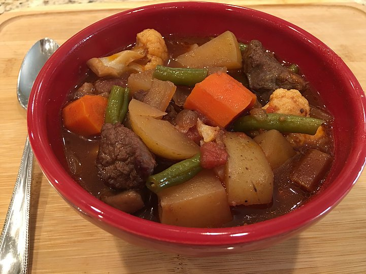 Lovin' this Lamb Stew – Cook once, eat twice