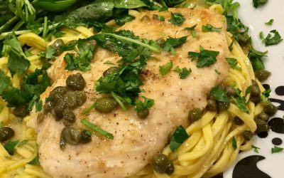 Valentine's Day Chicken Piccata